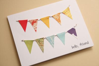 Как сделать простую но оригинальную открытку